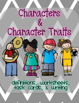 Character and Character Traits Pack