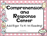 Character and Comprehension Spinners for K-1st Common Core