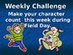 Character and Field Day