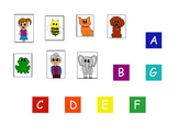 Character and Letter Keys Piano Music Theory File Folder
