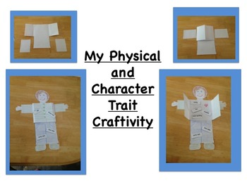 Character and Physical Trait Pack (ELA Common Core Aligned)