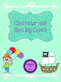 Character and Setting Cards