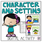 Character and Setting Digital Activity