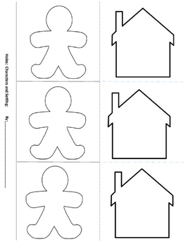 Character and Setting Graphic Organizer-Holes