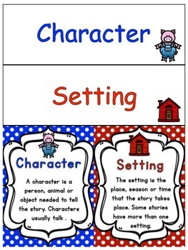 Image result for character and setting