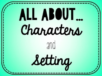 Character and Setting PowerPoint