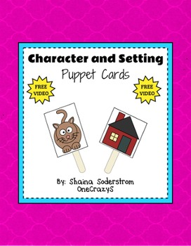 Character and Setting Puppet Cards