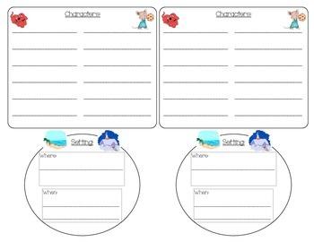 Character and Setting Recording Sheet