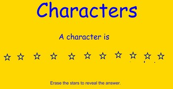 Character and Setting Review