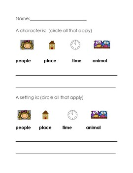 Basic Story Structure: Character and Setting Review