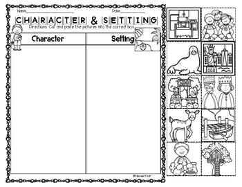 Worksheets. Character And Setting Worksheets. Pureluckrestaurant ...
