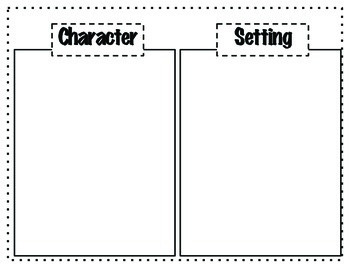 Character and Setting Sort (Reading Street)