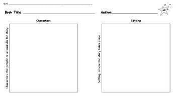 Character and Setting Template