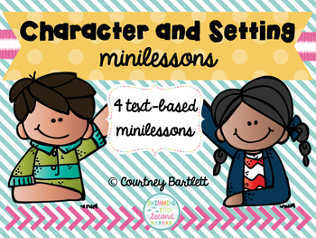 Character and Setting minilesson pack
