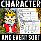 Character and event sort(50% off for 48 hours)
