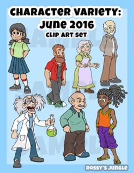 Character assortment Vol. 1 (May 2016)