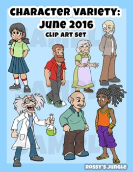 Character assortment Vol. 1 (May 2016)