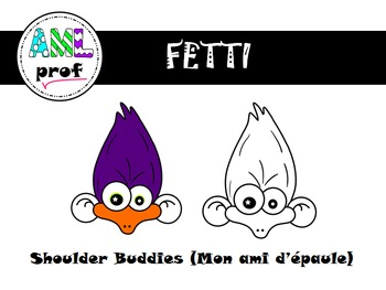 Character clipart - Shoulder Buddies -