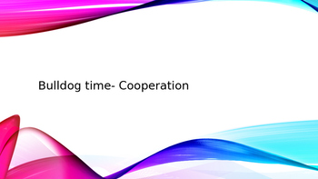 Character education- cooperation