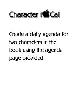 Character iCal Agenda