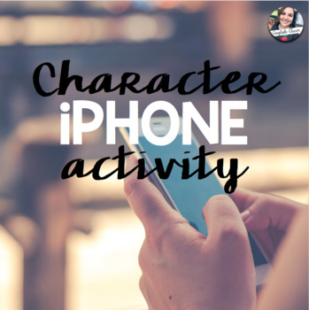 Character iPhone Activity FREEBIE