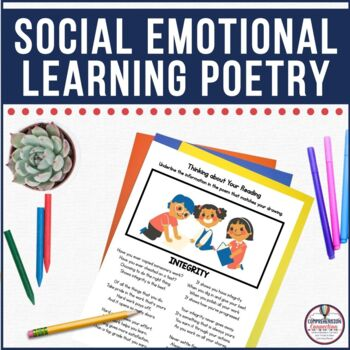 Character in the Classroom Poetry Yearly Bundle