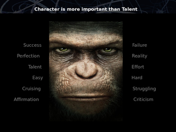 Character is More Important than Talent