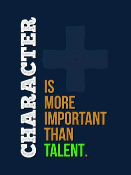 Character is More Important than Talent Choir Poster