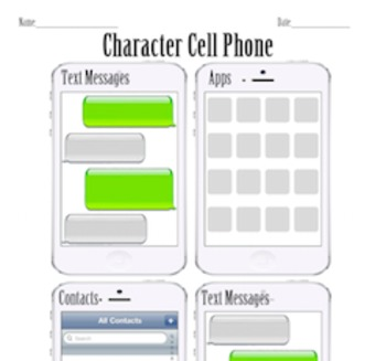 Character or Historical Figure Cell Phone