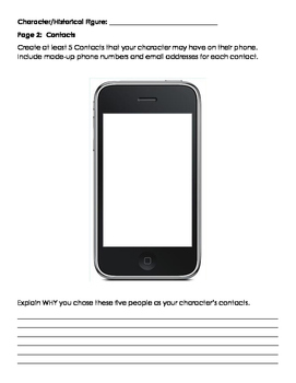 Character or Historical Figure Cell Phone Project, technology, cumulative