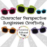 Character's Perspective Sunglasses Craftivity-PDF-GoogleSlideBUNDLE