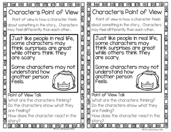 Character's Point of View RL.2.6
