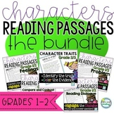 Characters' Reading Passages 1st/2nd Grade ~ BUNDLE Hitting many Elements
