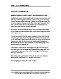 Character's Studies Grade 3 Unit 3 Homework Assignments
