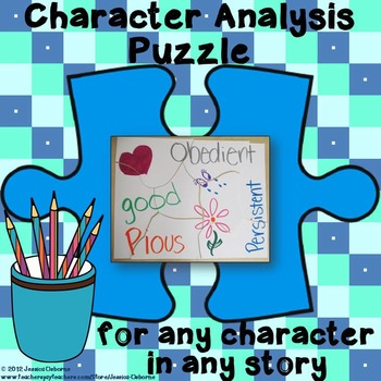 Character (traits) Analysis Puzzle for any character in any story
