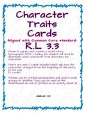 Character traits R.L 3.3