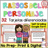 Character traits in Spanish / Rasgos del personaje / Task