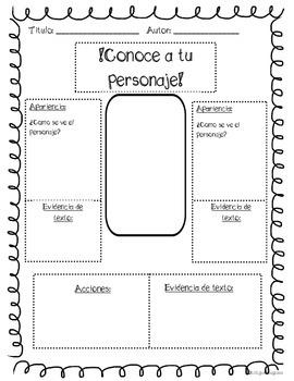 Character traits mini bundle Spanish