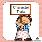 Character traits, positive traits, negative traits, mock trial, books on trial