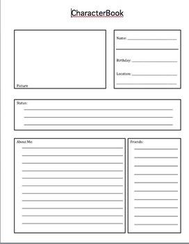 CharacterBook