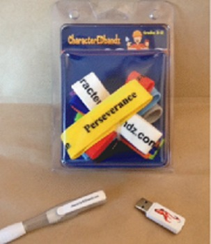 CharacterEDbandz w/ Teacher's Guide (Character Education)