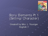 Character/Setting PPT