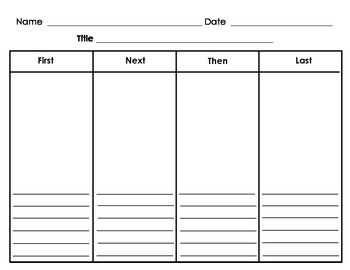 story plot graphic organizer pdf