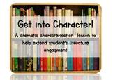 Characterisation English Drama lesson