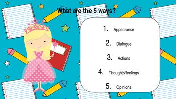 Characterisation in Narratives (fantasy themed) PowerPoint Presentation