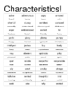 Characteristics (The Frog Prince Continued)