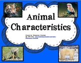 Characteristics of Animals