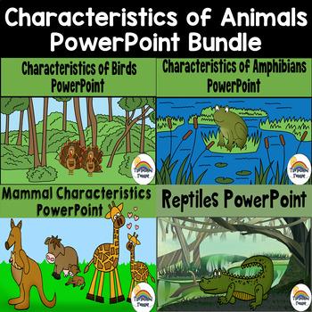 Characteristics of Animals PowerPoint (Birds, Reptiles, Amphibians, Mammals)