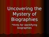 Characteristics of Biographies Power Point