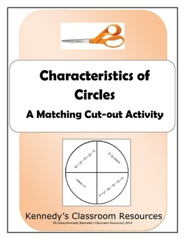 Characteristics of Circles - Practice with Radius, Center,